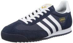 adidas Dragon, Herren Sneakers, Blau (New Navy/White/Metallic Gold), 41 1/3 EU (7.5 Herren UK) - http://on-line-kaufen.de/adidas/41-1-3-eu-adidas-dragon-unisex-erwachsene-sneakers-2