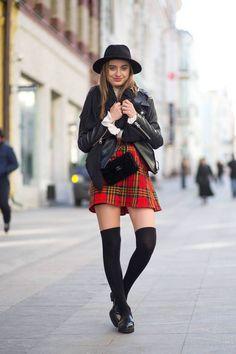 Moscow Street Style Sonya Esman