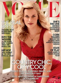 Reese Witherspoon's October Issue Cover Photos