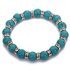 Yazilind Jewelry Vintage Tibetan Silver Crystal Round Rimous Green Turquoise Stretch Bangle Bracelet for Women Yazilind,http://www.amazon.com/dp/B00HG32D3G/ref=cm_sw_r_pi_dp_4pJjtb0R2X1EA2EF