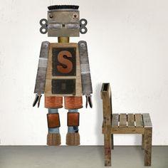Robot Xen #robot #custom #wallsticker #decoration #adhesiu #kids #room