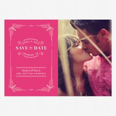 Vintage Novel Save the Date www.lovevsdesign.com