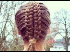 Suspended infinty braid tutorial - HairAndNailsInspiration - YouTube