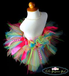 birthday tutu.... forget the presents, I want a bright and colorful tutu to wear all day! Lol