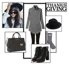 """""""Thanks Giving back HOME"""" by princess-erika15 ❤ liked on Polyvore featuring Shin Choi, Oasis, Madewell, Michael Kors, Eugenia Kim, women's clothing, women's fashion, women, female and woman"""