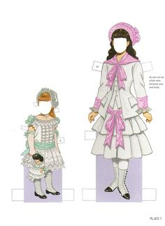 Paper Dolls~Childrens Fashions From Harper - Bonnie Jones - Picasa Web Albums