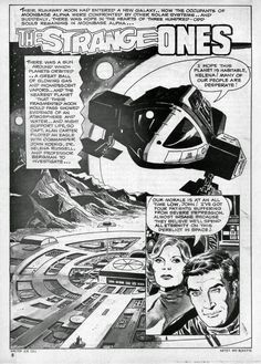 """Diversions of the Groovy Kind: Black and White Wednesday: """"The Strange Ones"""" by Gill and Boyette"""