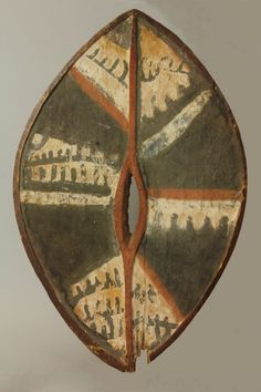 Rare ceremonial arm shield.Kikuyu – Kenya. Circa.Early 20th century. Ex private collection Rolf de Mare [1888 -1964] Swiss art collector who...