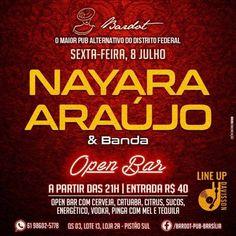 #VEJA Bardot Pub: Nayara Araújo e Banda #agenda @paroutudo via ParouTudo http://ift.tt/29mC4ED #Raynniere #Makepeace