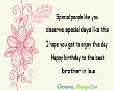 Birthday Wishes and Messages for Brother in Law