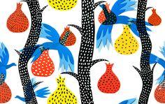 Pattern | Figs by Amanda Berglund, via Behance
