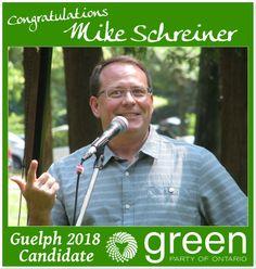 Congratulations Mike Schreiner!