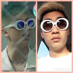 Ricegum tryna be Rap Monster from BTS
