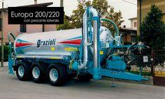 Grazioli - Europa 200/220 Maggiori informazioni: http://www.zoomac.it/it_2013/grazioli/carribotte-a-1-2-3-assi-capacita-da-3-000-a-30-000-litri/