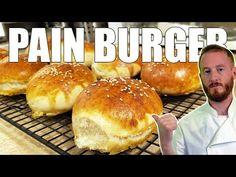 Burger Bread, Mini Hamburgers, Cooking Chef, Bread Rolls, Beignets, Scones, Food And Drink, Snacks, Breads