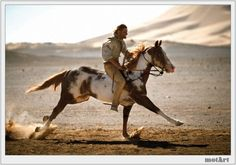 Hidalgo- best movie ever. I want a horse like that but i also want that beautiful relationship between horse and rider
