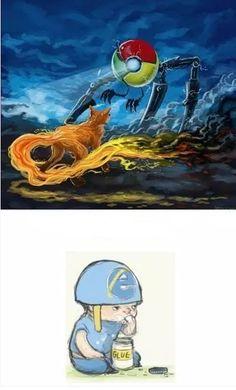 Muralha Informática: Chrome vs Firefox vs IE