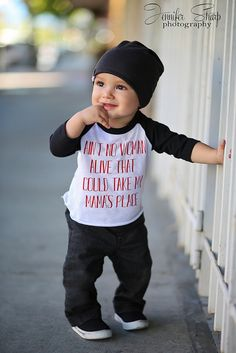 """Baby Model Connor Baby Fashion Jennifer Sharp Photography Southern Oregon Style Slouchy beanie """"Aint no woman alive that could take my mama's place"""""""