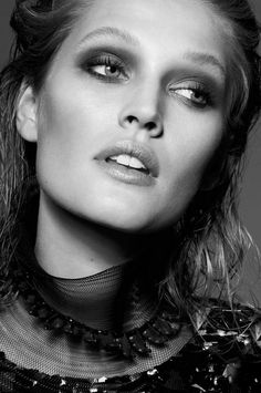 "Toni Garrn in ""Masrerclass la fëte selon chanel"" by Philip Gay for L'Express Styles, December 2014"