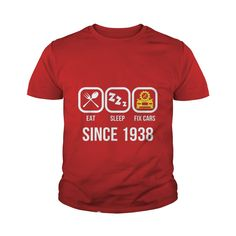 Eat Sleep Fix Cars Since 1938 T-Shirt 79th Birthday Gift Tee #gift #ideas #Popular #Everything #Videos #Shop #Animals #pets #Architecture #Art #Cars #motorcycles #Celebrities #DIY #crafts #Design #Education #Entertainment #Food #drink #Gardening #Geek #Hair #beauty #Health #fitness #History #Holidays #events #Home decor #Humor #Illustrations #posters #Kids #parenting #Men #Outdoors #Photography #Products #Quotes #Science #nature #Sports #Tattoos #Technology #Travel #Weddings #Women
