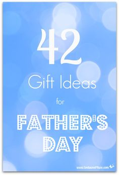 42 Gift Ideas for Father's Day cover