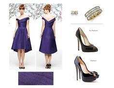 Escorts Attire for the Wedding.  Escort of Honor (Reyna) and Escorts (Amanda, Lucy & Missy) Dress - Custom Made