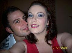 Me and my wonderful husband to be Emilio.