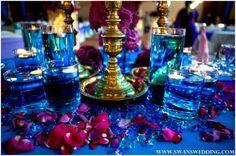 Indian Wedding Lunch Reception With Peacock Theme by Swans Wedding in Malaysia Wedding Lunch, Wedding Hire, Wedding Stage, Wedding Themes, Wedding Ideas, Hindu Wedding Ceremony, Wedding Mandap, Wedding Reception, Cobalt Wedding