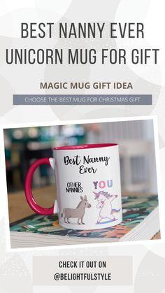 This Funny Coffee Mug are great Gift for your Nanny. Funny Christmas Gifts, Christmas Humor, Perfect Gift For Her, Gifts For Her, Nanny Gifts, Coffee Cup Photo, Unique Gifts, Great Gifts, Cute Coffee Mugs