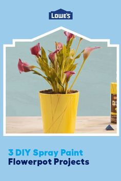 Upcycle and elevate your flowerpots with these three brilliant and simple DIY projects!