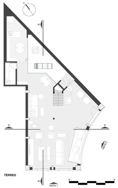 Estar Móveis,Lower Floor Plan