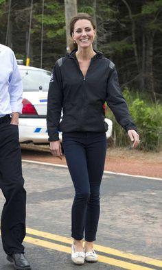 Kate Middleton & her boat shoes.
