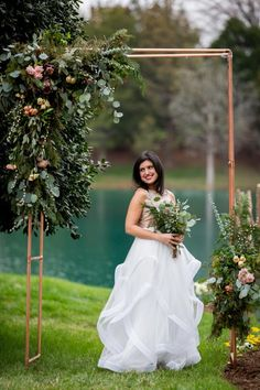 how to build an arbor from copper piping hgtv Trending This Year - CowlesNCP ~ Make your Wedding Ideas Diy Wedding Arbor, Farm Wedding, Wedding Ceremony, Dream Wedding, Wedding Ideas, Tent Wedding, Copper Wedding, Black Tie Wedding, Fall Flower Girl