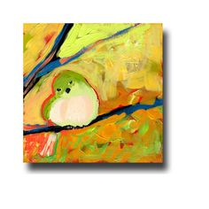 51 Birds No 46 Limited Edition Reproduction on a 4 x 4 by jenlo262