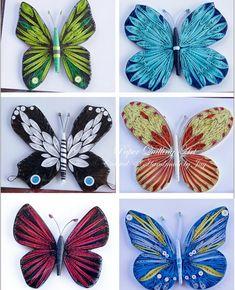 Quilling art: butterfly ideas + patterns