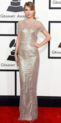 Grammys Awards 2014: Arrivals : People.com /Taylor looks fantastic!