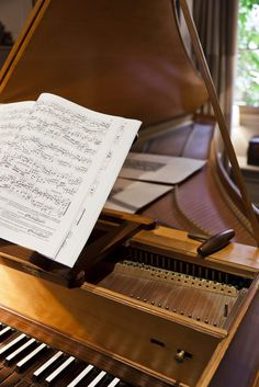 Cool London Home Tour: Harpsichord