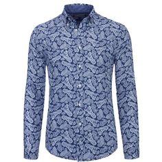 Hemd mit Paisley Muster ab 50,00€ ♥ Hier kaufen: http://stylefru.it/s386428