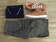 Polo: Fred Perry Pants: Boss Orange Shoes: Adidas Stan Smith