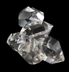 Quartz Var. Herkimer Diamond Cluster from Ace of Diamonds Mine, Herkimer County,  New York