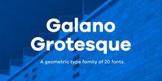 Galano Grotesque - Webfont & Desktop font « MyFonts