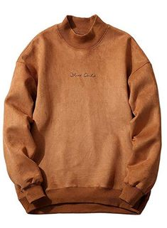 New ZAFUL Mens Solid Color Chest Letter Print Faux Suede Sweatshirt online shopping - Melyssarubyclothing Hoodie Sweatshirts, Sweatshirts Online, Mens Clothing Sale, Men's Clothing, Harajuku, Heated Jacket, Fashion Night, Casual, Mens Fashion