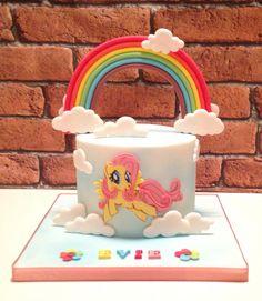My little pony cake - fluttershy