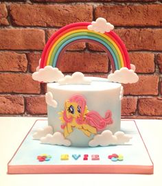 My little pony cake - fluttershy