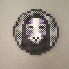 Spirited Away coaster perler beads by dimamiart