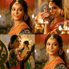 So elegant and tradional... #Sweety # Devasena # Annu #anushka shetty.