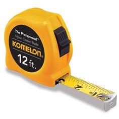 "Komelon USA 4912 12' X 5/8"" Power Tape Measure"
