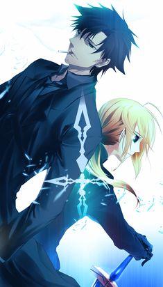 Kiritsugu and Arthur