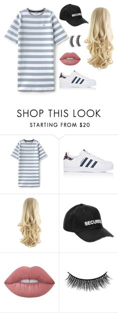 """Untitled #198"" by briannachrt ❤ liked on Polyvore featuring Lacoste L!VE, adidas, Vetements, Lime Crime and Battington"