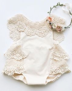 Ideas baby girl style boho children for 2019 Baby Girl Romper, Little Girl Dresses, Baby Dress, Girls Dresses, Infant Dresses, Infant Clothing, Baby Boy, Baby Outfits, Kids Outfits